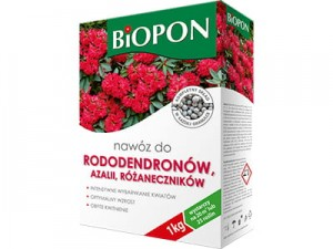 Biopon fertilizer. Rhododendron, azalea, 1kg rhododendron at Wasserman.eu