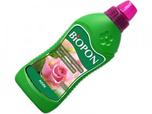 Biopon liquid fertilizer for roses 1L at Wasserman.eu