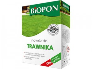 Biopon grass fertilizer granulate 1kg at Wasserman.eu