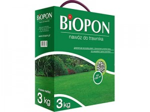 Biopon grass fertilizer granulate 3kg at Wasserman.eu