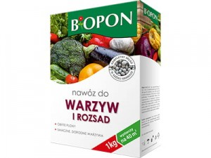 Biopon fertilizer for vegetables 1kg carton at Wasserman.eu