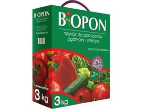 Nawóz Biopon do warzyw karton 3kg w sklepie Wasserman.eu
