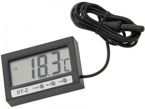 Outdoor / indoor LCD thermometer 50-309 at Wasserman.eu
