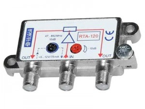 Telmor RTA-120 active splitter at Wasserman.eu