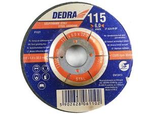 Grinding disc for 115x22.2mm steel Dedra F1321 at Wasserman.eu