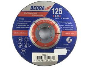 Grinding wheel for 125x22,2mm Dedra F1322 steel at Wasserman.eu