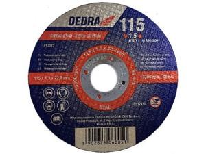 Tarcza do cięcia stali 115x22,2x1,5mm Dedra F13012 w sklepie Wasserman.eu