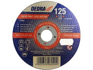 Cutting disc for 125x22.2x1.5mm steel Dedra F13022 at Wasserman.eu