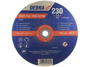 Tarcza do cięcia stali 230x22,2x2mm Dedra F13052 w sklepie Wasserman.eu