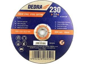 Tarcza do cięcia stali 230x22,2x3mm Dedra F1315 w sklepie Wasserman.eu