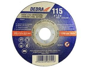 Tarcza do cięcia stali nierdzewnej INOX 115x22,2x1mm F13311 w sklepie Wasserman.eu