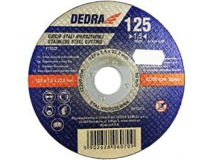 Cutting disc for stainless steel INOX 125x22,2x1,5mm F13322 at Wasserman.eu
