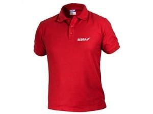 Koszulka męska POLO Dedra BH5PC-S czerwona w sklepie Wasserman.eu