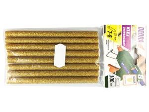 Klej na gorąco Złoty Brokat 8szt. Dedra DED7573 w sklepie Wasserman.eu