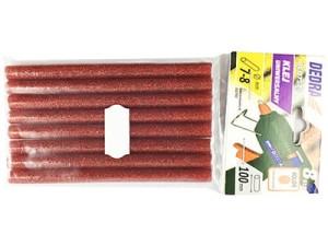 Klej na gorąco Czerwony Brokat 8szt. Dedra DED7575 w sklepie Wasserman.eu