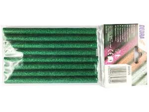 Hot glue Green Glitter 8 pcs. Dedra DED7576 at Wasserman.eu