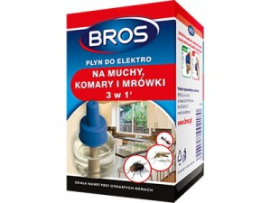 3in1 liquid for Bros Elektro for flies, mosquitoes and ants at Wasserman.eu