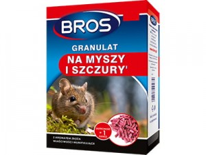 Poison for mice and rats. Bros granules 500g at Wasserman.eu