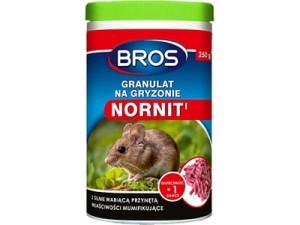 Granulat do zwalczania gryzoni Bros Nornit w sklepie Wasserman.eu