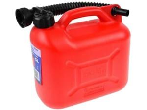 Plastic canister 10L + funnel Geko G03241 at Wasserman.eu