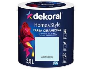 Farba ceramiczna Dekoral Home&Style 2,5l ARCTIC BLUE w sklepie Wasserman.eu