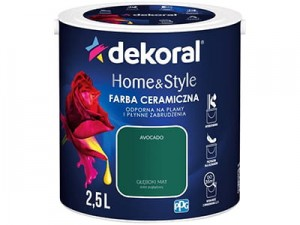 Ceramic paint Dekoral Home & Style 2,5l Avocado at Wasserman.eu