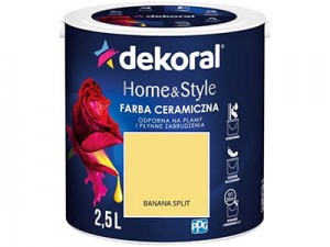 Ceramic paint Dekoral Home & Style 2,5l BANANA SPLIT at Wasserman.eu