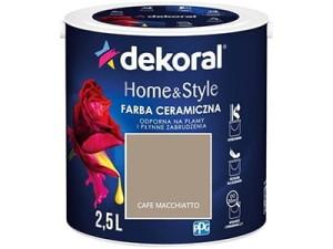 Farba ceramiczna Dekoral Home&Style 2,5l CAFE MACCHIATTO w sklepie Wasserman.eu
