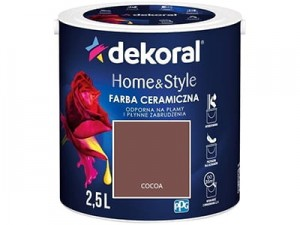 Farba ceramiczna Dekoral Home&Style 2,5l COCOA w sklepie Wasserman.eu