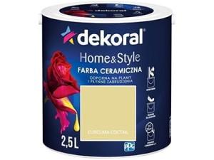 Farba ceramiczna Dekoral Home&Style 2,5l CURCUMA COCTAIL w sklepie Wasserman.eu