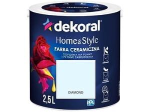 Farba ceramiczna Dekoral Home&Style 2,5l DIAMOND w sklepie Wasserman.eu