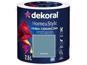 Farba ceramiczna Dekoral Home&Style 2,5l Dolphin 2,5l DOLPHIN w sklepie Wasserman.eu