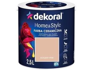 Farba ceramiczna Dekoral Home&Style 2,5l ELEGANT PINK w sklepie Wasserman.eu