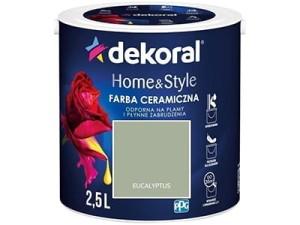 Farba ceramiczna Dekoral Home&Style 2,5l EUCALYPTUS w sklepie Wasserman.eu
