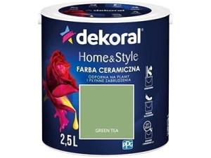 Farba ceramiczna Dekoral Home&Style 2,5l GREEN TEA w sklepie Wasserman.eu