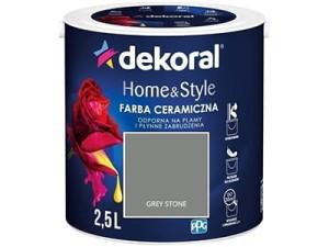 Farba ceramiczna Dekoral Home&Style 2,5l GREY STONE w sklepie Wasserman.eu