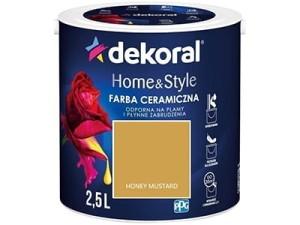 Farba ceramiczna Dekoral Home&Style 2,5l HONEY MUSTARD w sklepie Wasserman.eu