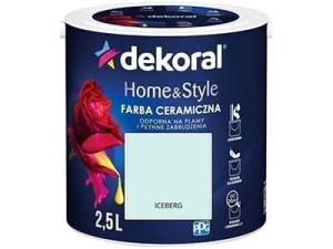 Farba ceramiczna Dekoral Home&Style 2,5l ICEBERG w sklepie Wasserman.eu