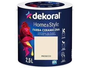 Farba ceramiczna Dekoral Home&Style 2,5l PROSECCO w sklepie Wasserman.eu