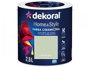 Ceramic paint Dekoral Home & Style 2,5l Salvia Leaf at Wasserman.eu