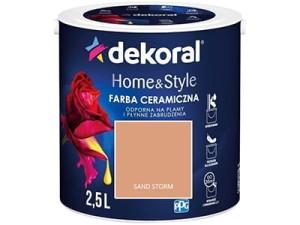 Ceramic paint Dekoral Home & Style 2,5l Sand Storm at Wasserman.eu