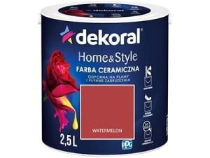 Farba ceramiczna Dekoral Home&Style 2,5l WATERMELON w sklepie Wasserman.eu