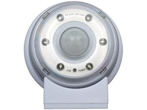 LED bat lamp AAA Maclean Energy MCE02 motion sensor at Wasserman.eu