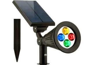 Solarna lampa kolorowa LED SL-6065 oświetlacz rgb w sklepie Wasserman.eu