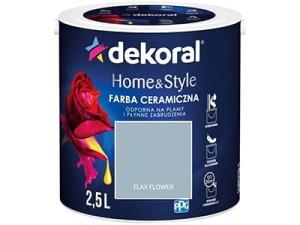 Farba ceramiczna Dekoral Home&Style 2,5l FLAX FLOWER w sklepie Wasserman.eu