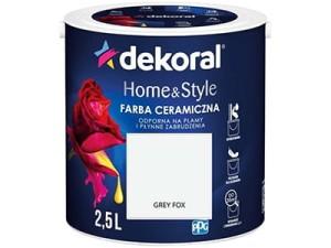 Farba ceramiczna Dekoral Home&Style 2,5l GREY FOX w sklepie Wasserman.eu