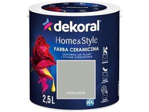 Farba ceramiczna Dekoral Home&Style 2,5l KOALA BEAR w sklepie Wasserman.eu