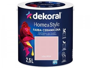 Farba ceramiczna Dekoral Home&Style 2,5l LOLLYPOP w sklepie Wasserman.eu
