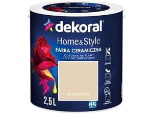 Farba ceramiczna Dekoral Home&Style 2,5l WHITE COFFE w sklepie Wasserman.eu