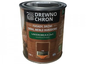 Lacquer stain 2in1 Wood Chron 0.8L color Tik at Wasserman.eu